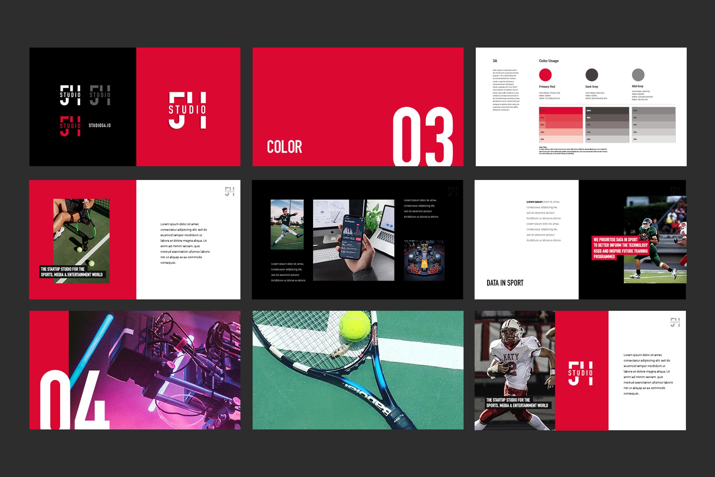 studio 54 branding design